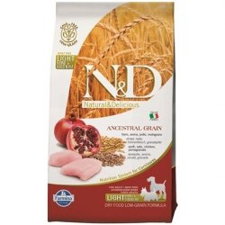 N&D Low Grain Light S/M Chicken & Pomegranate