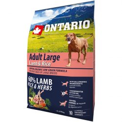 Ontario Adult Large Lamb & Rice & Turkey
