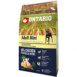 Ontario Adult Mini Chicken & Potatoes & Herbs