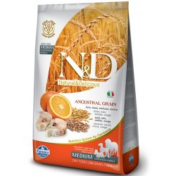 N&D Low Grain Adult Codfish & Orange