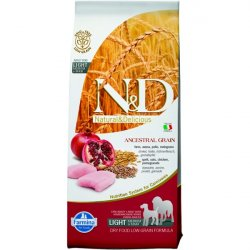 N&D Low Grain Light M/L Chicken & Pomegranate