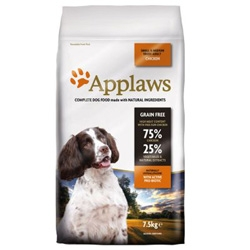 Applaws Dog Adult Small & Medium Breed Chicken