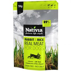 Nativia Real Meat Rabbit & Rice
