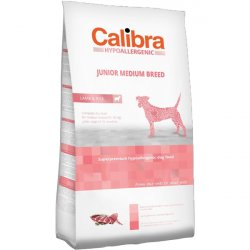 Calibra Dog HA Junior Medium Breed Lamb