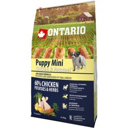 Ontario Puppy Mini Chicken & Potatoes & Herbs