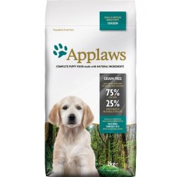 Applaws Dog Puppy Small Medium Breed Chicken
