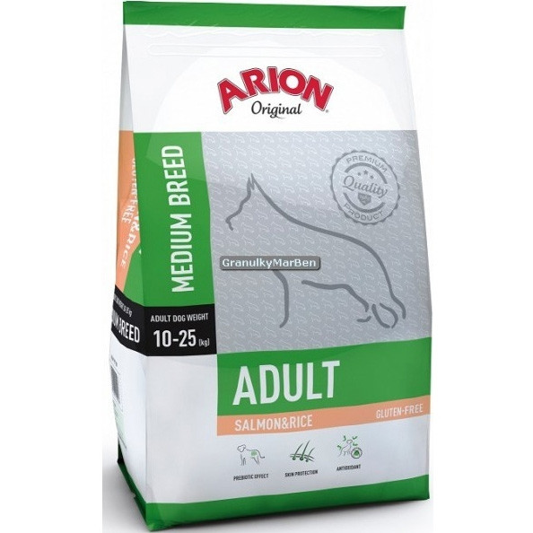 Arion Adult Medium Salmon & Rice