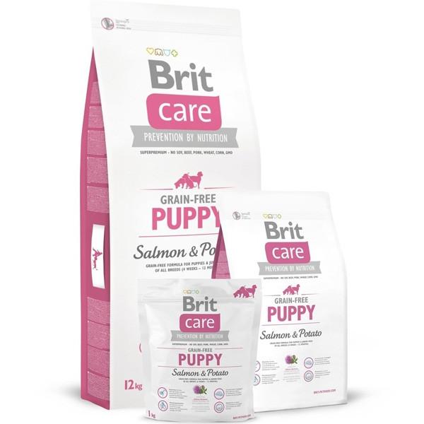 Brit Care Grain Free Puppy Salmon & Potato