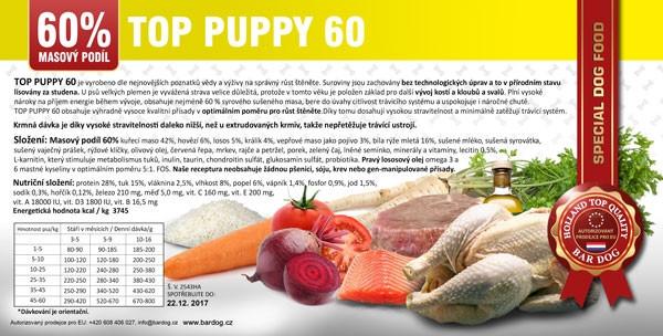 Bardog Top Puppy 60
