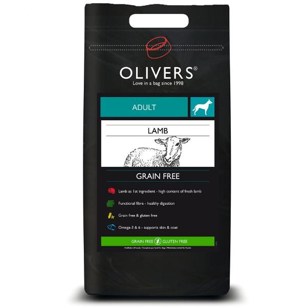 Olivers GF Adult Lamb medium