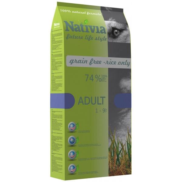 Nativia Adult Chicken & Rice