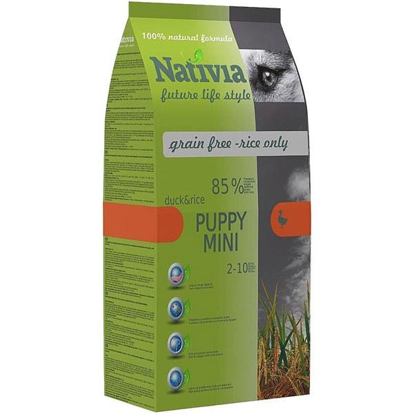 Nativia Puppy Mini Duck & Rice