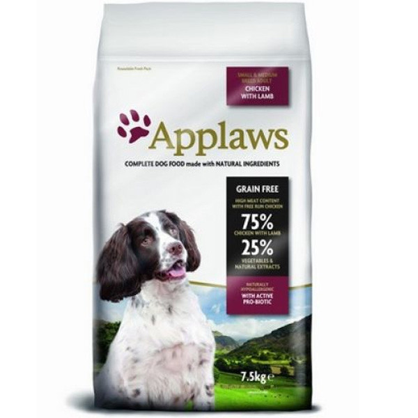 Applaws Dog Adult Small & Medium Breed Chicken & Lamb