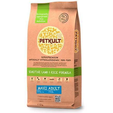 Petkult Maxi Adult Lamb & Rice