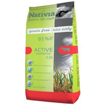 Nativia Active Beef & Rice